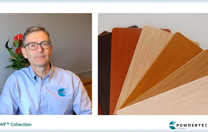 Powdertech Wood Finish (PWF™) – Natural Variations in Colour & Grain Pattern of Wood