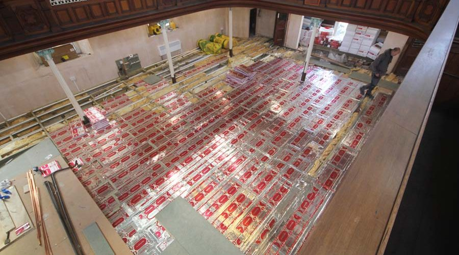 South Wales church warms to Circoboard performance