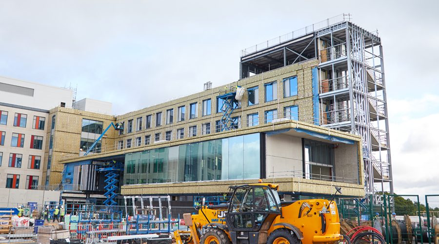 ROCKWOOL Delivers Specialist Fire Protection for Grange University Hospital