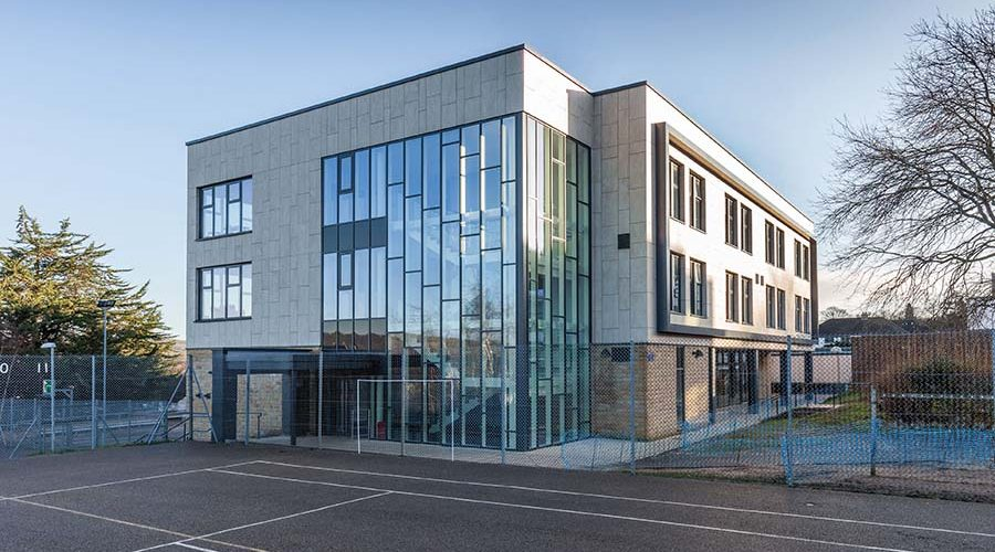 Shackerley provides top-class cladding system for Ilkley Grammar School
