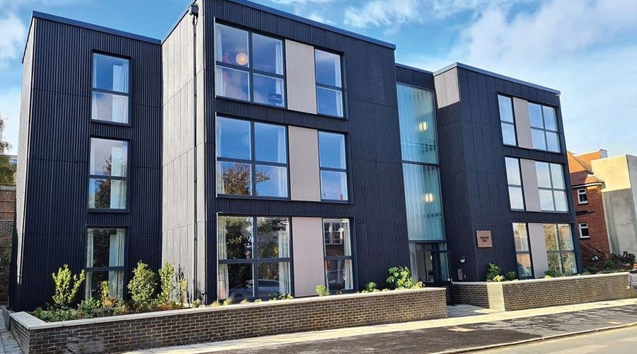 NEW COUNCIL HOMES 'RAISE THE BAR FOR SUSTAINABILITY AND FIRE SAFETY'