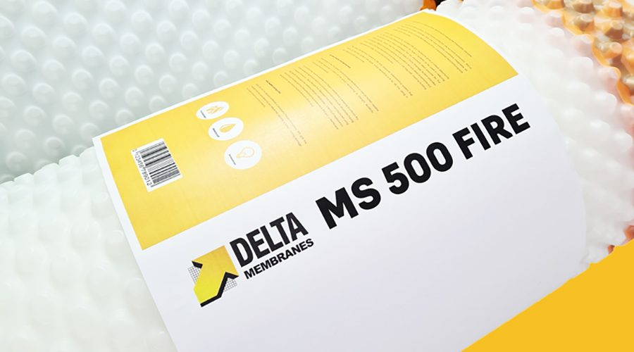 How Specifying Delta MS 500 Fire Retardant Helps When Designing for Building Compliance