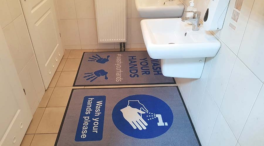 Optimise Hygiene with a Combination of Floor Matting Systems