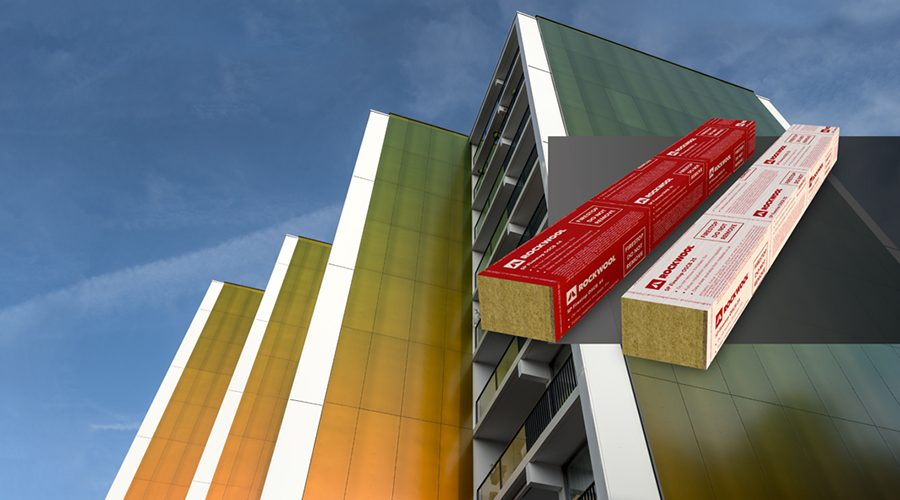 New ROCKWOOL® Solution Simplifies Rainscreen Fire Stopping