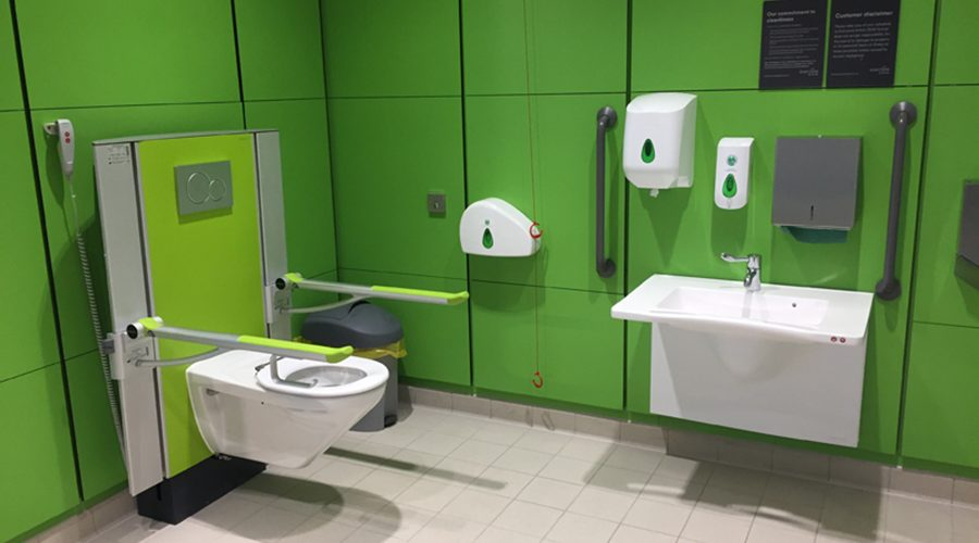 Winchester City Council Goes Above and Beyond with Accessible Bathrooms at the New Winchester Sports and Leisure Park