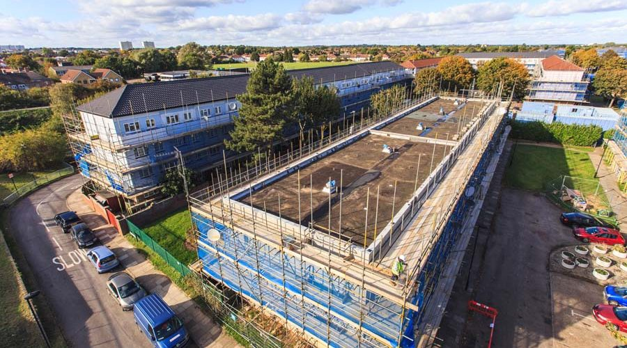 Rooftop Development Initiative Utilised on Enfield's Lytchet Way Estate