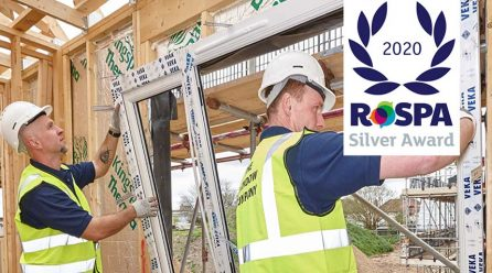 RoSPA Health and Safety Award for The Window Company (Contracts)