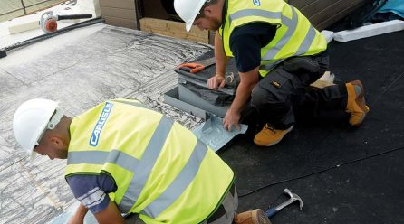 Resitrix Provides a Robust CIF-funded Roof at Prince Henry's High School