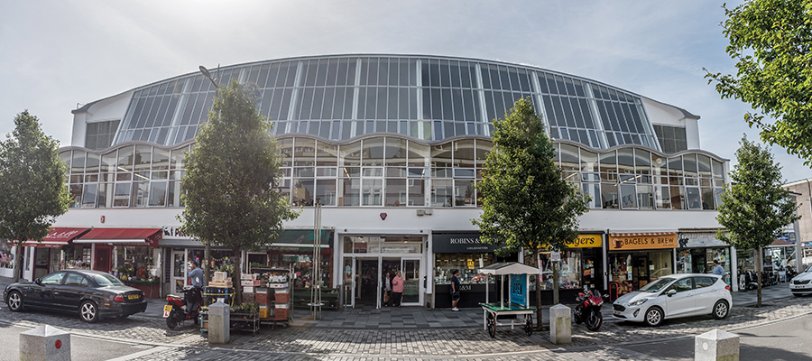 Smart refurbishment of Plymouth's iconic City Market