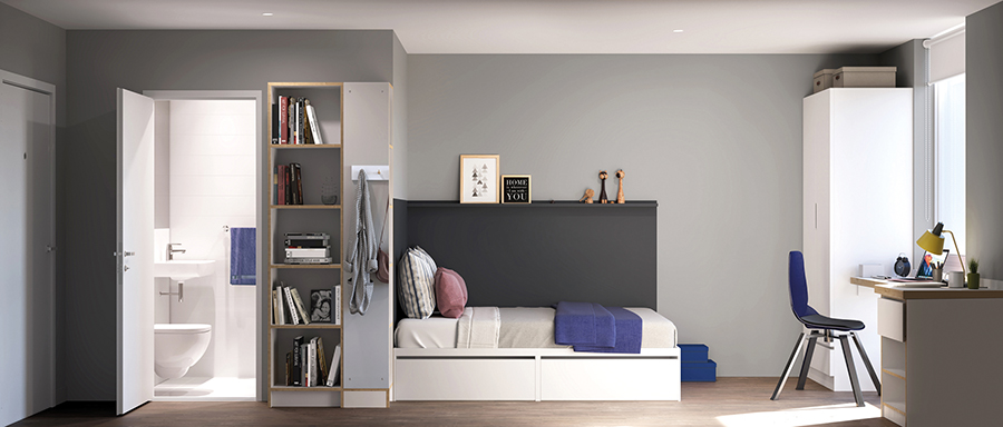 Student schemes benefit from pod living