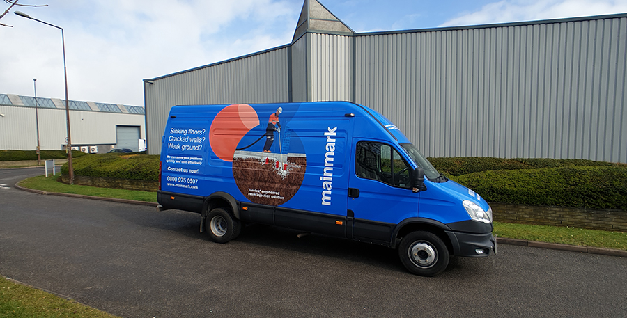 Mainmark leads the way with new fleet, designed to overcome common industry problems