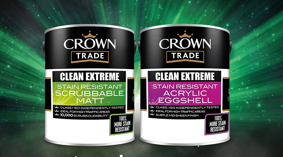 Take the strain out of stain removal with Crown Trade