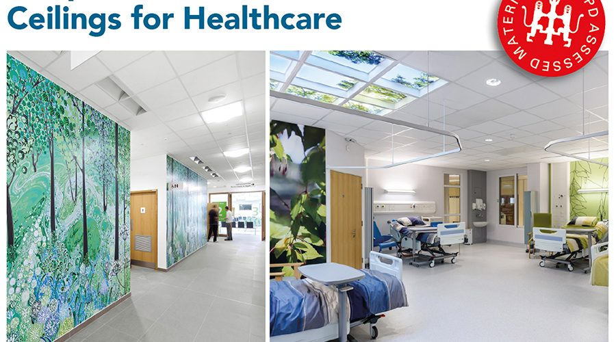 Discover the unique benefits of stone wool from Rockfon's latest Healthcare CPD