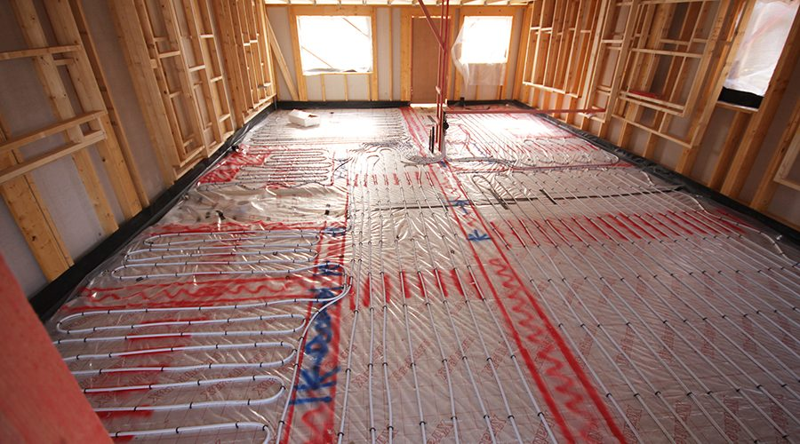 Tailored UFH and air source solution for seahouses social housing development