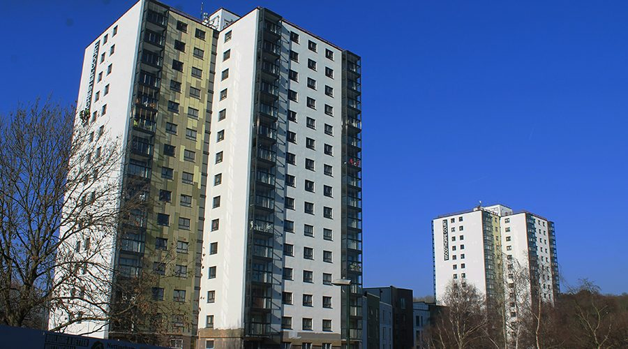 Compliance and performance without compromise – PermaRock External Wall Insulation installed on Nottingham high rise blocks