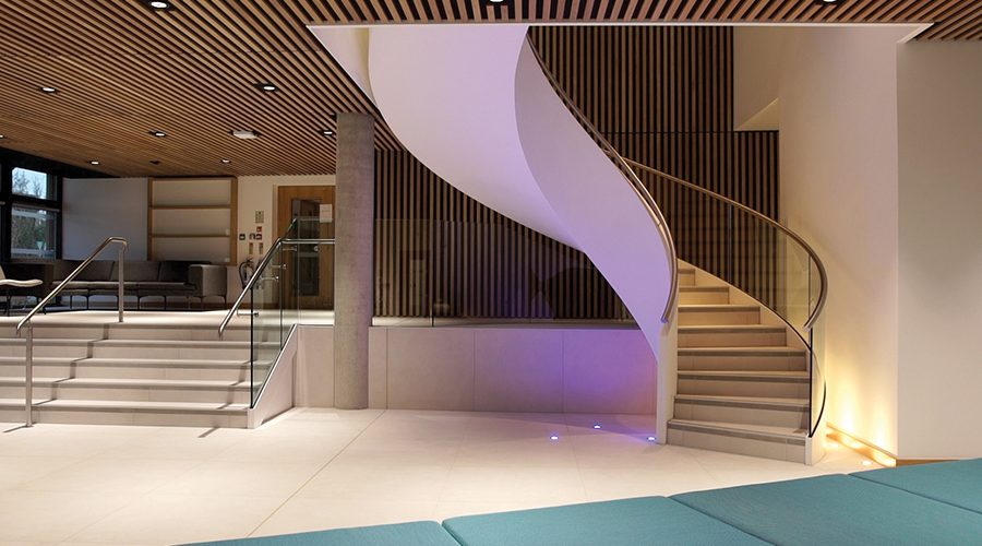 Spiral UK create the centrepiece for Falmouth University's new Creative Bridge