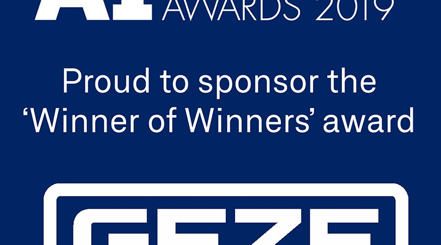 GEZE UK Sponsors Leading Architectural Ironmongery Award