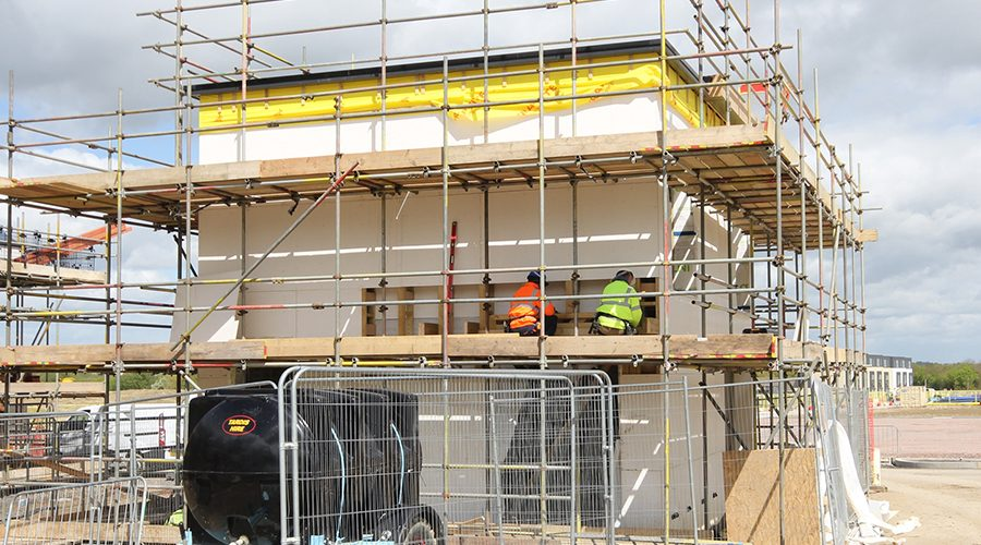 Triple role for Magply in passive build coach houses