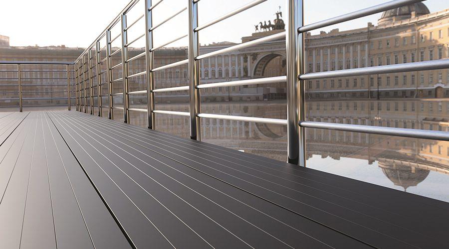 Ecodek unveils new non-combustible decking – ADEK – at FUTUREBUILD 2020