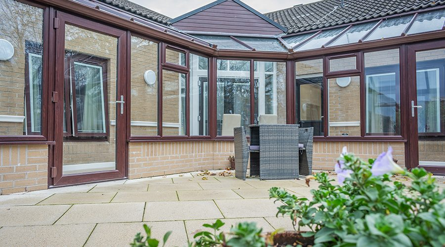 Refurbishment of new charity project to support adults with autism includes bespoke new conservatory