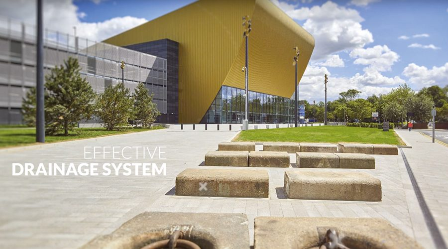 Hauraton Drainage Channels & Gratings Installed at the Bonus Arena in Hull